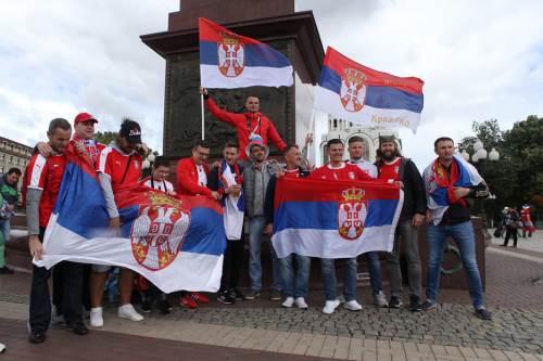 Navijači, Orlovi, Srbija Švajcarska