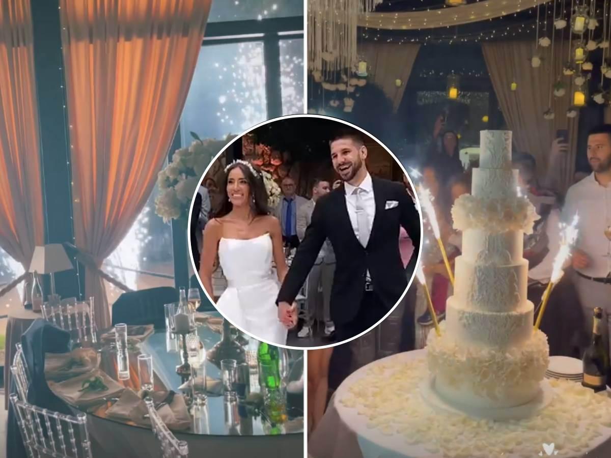 Proslava vencanje torta