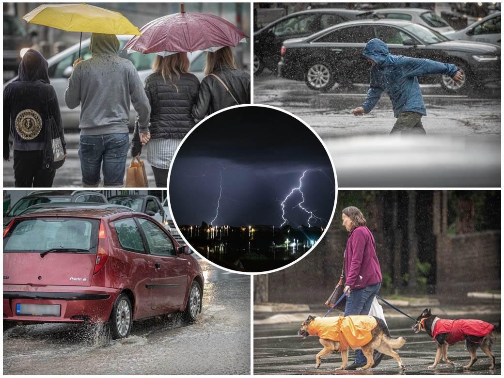 nevreme kiša grmljavina padavina vreme