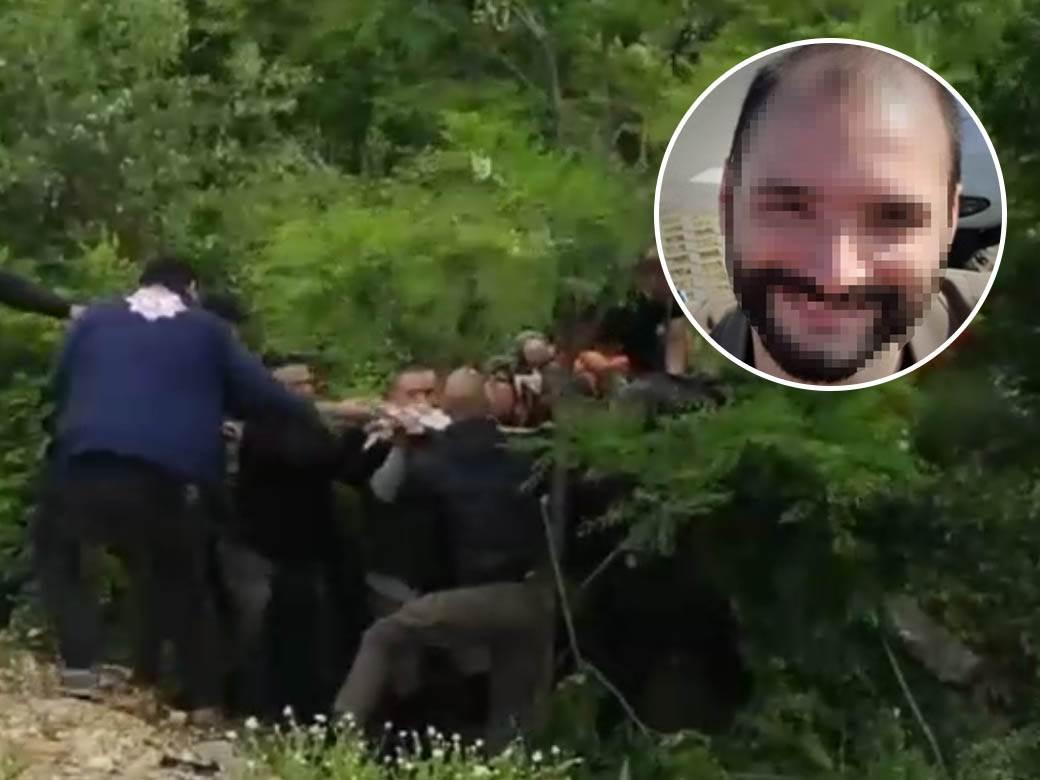 spasavanje čoveka ivan milošević nestao nađen