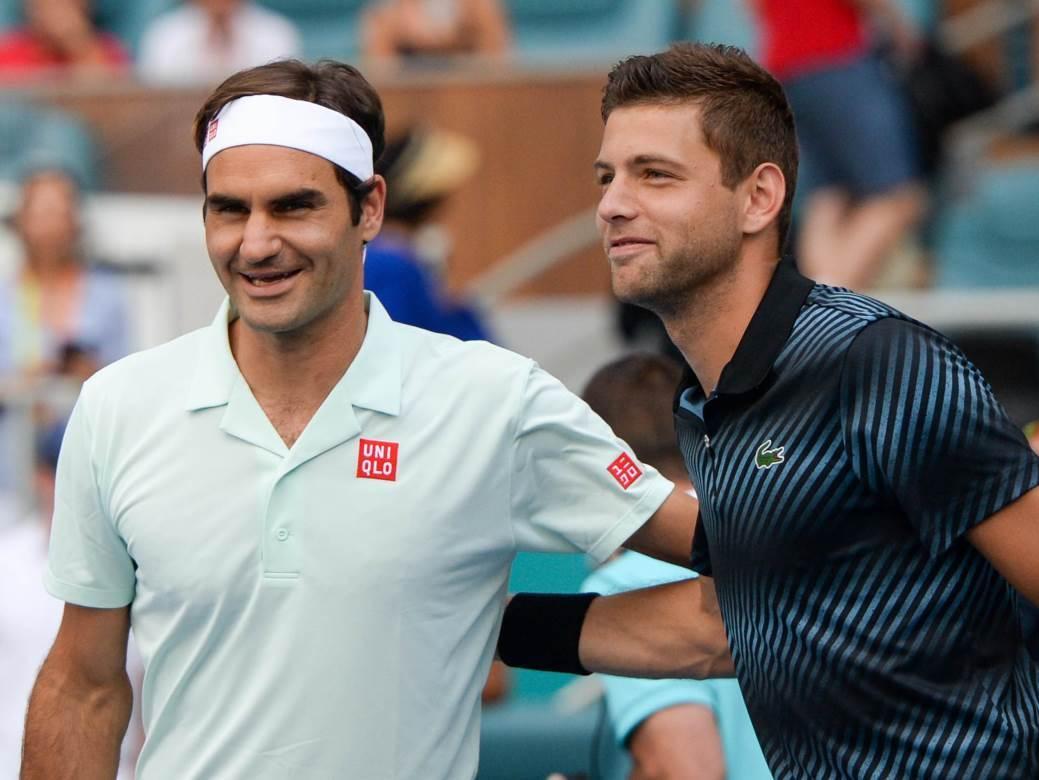 Rodžer Federer Filip Krajinović