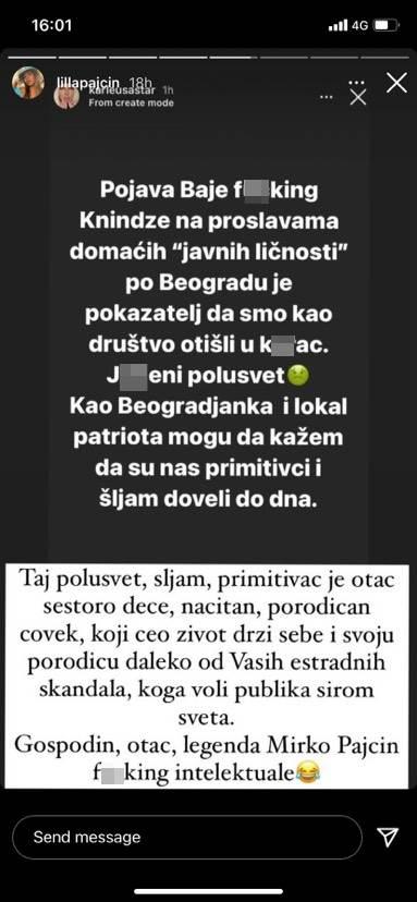 Jelena Karleuša isprozivala Baju Malog Knindžu