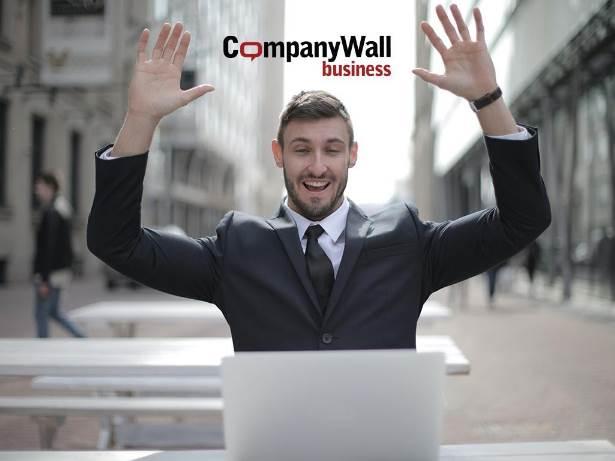 company wall business promo