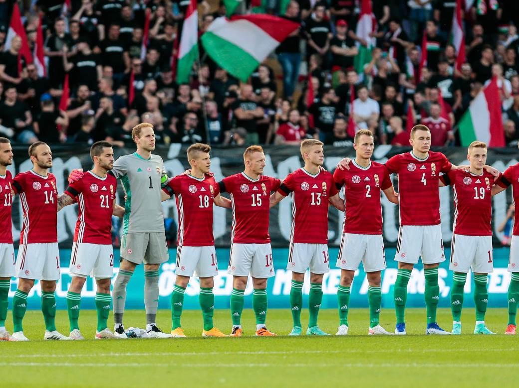 Reprezentacija Mađarske.