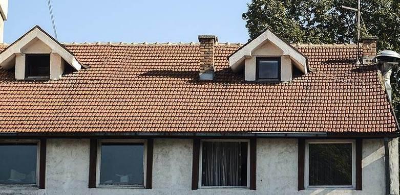 Kuća krov prozori