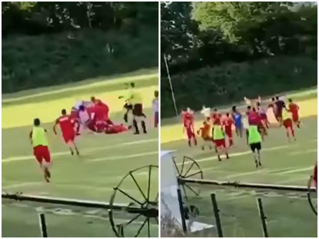 Bajmok Zmajevo tuča fudbalera