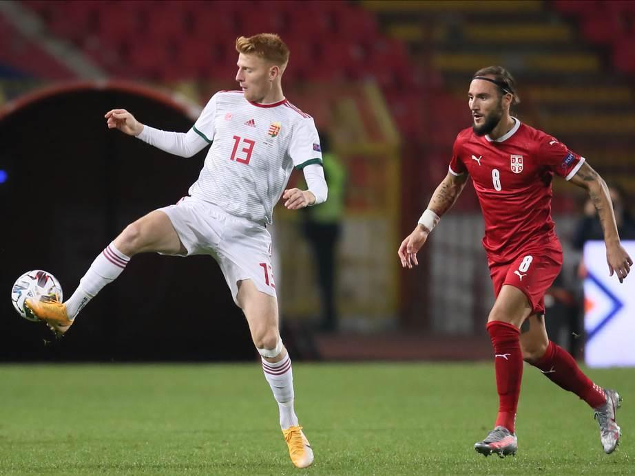 Fudbaler DAC Dunajske Strede i reprezentacije Mađarske, Žolt Kalmar.