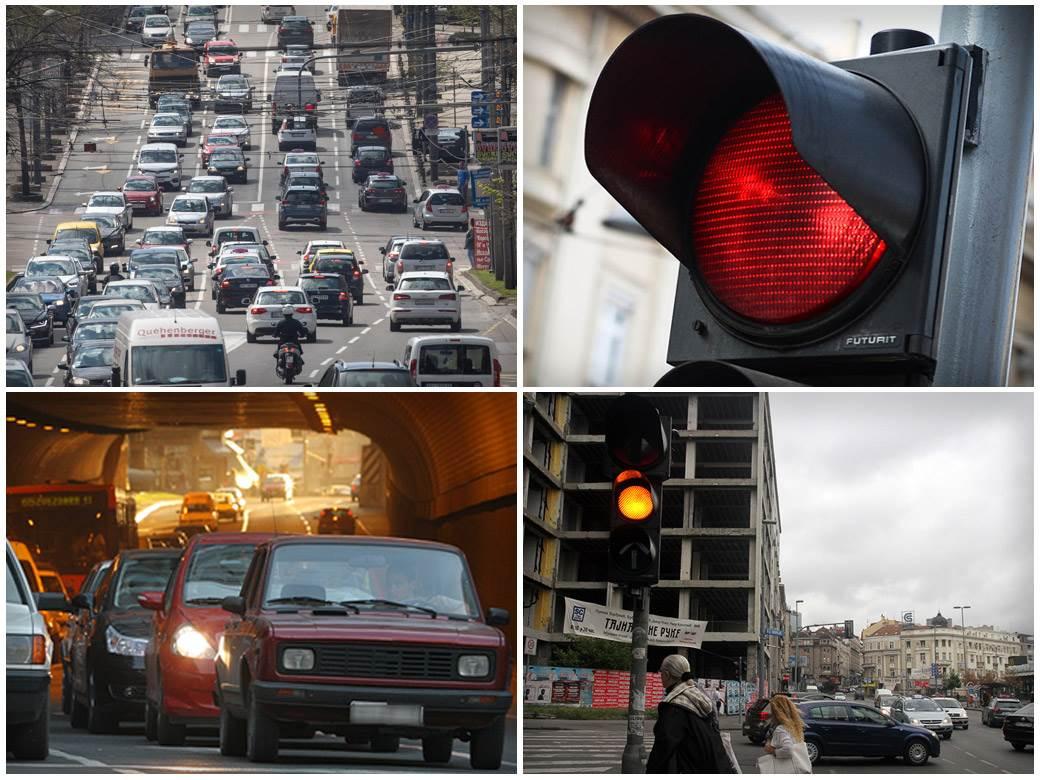 saobraćaj semafor gužva