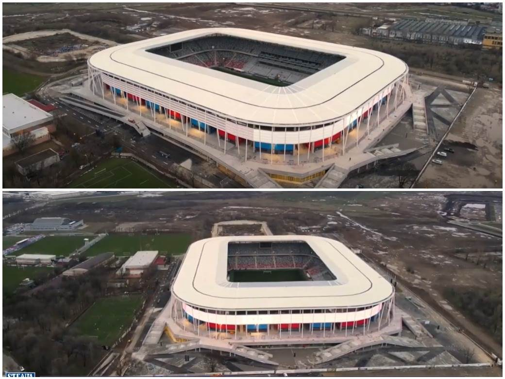 Steaua novi stadion Bukurešt
