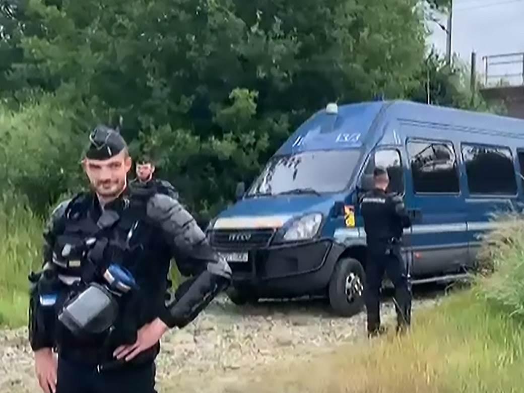 francuska policija