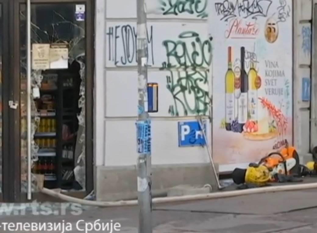 pozar u kosovskoj ulica