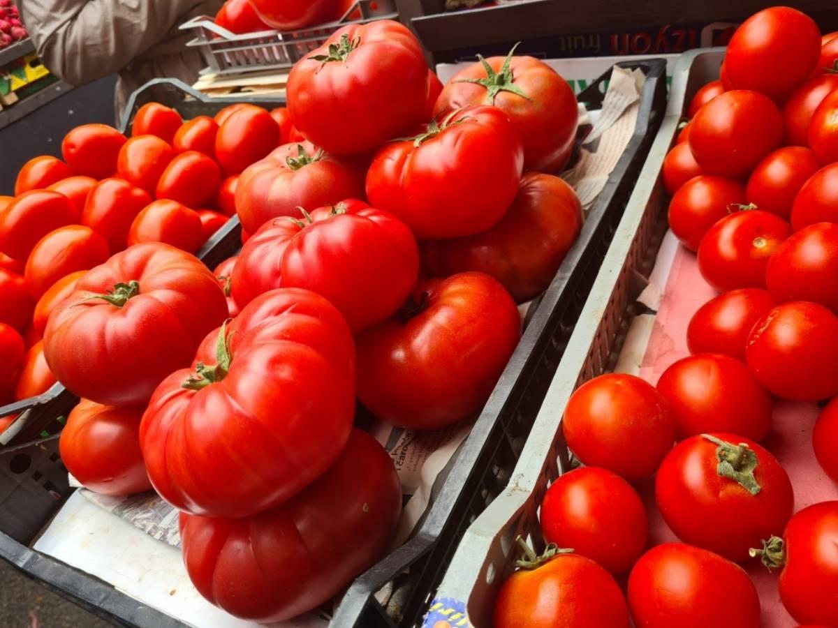 paradajz u gajbama na pijaci