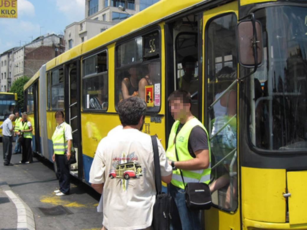 kontrola kontrolori autobus