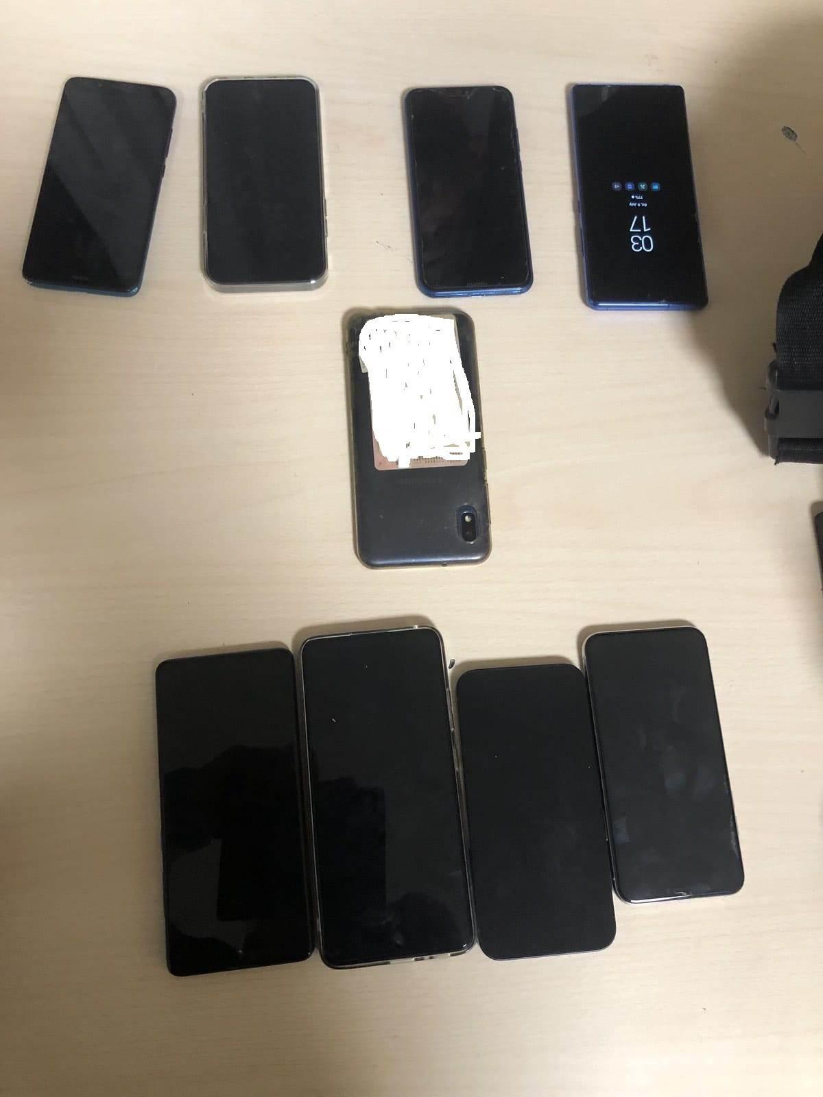 Egzit krađa telefoni
