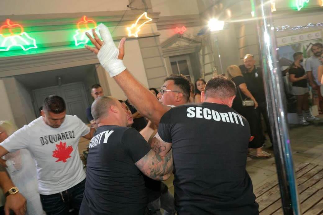 Nenad Lazić Neca , Predrag Lazić Peca, tuča, zadruga žurka (1)