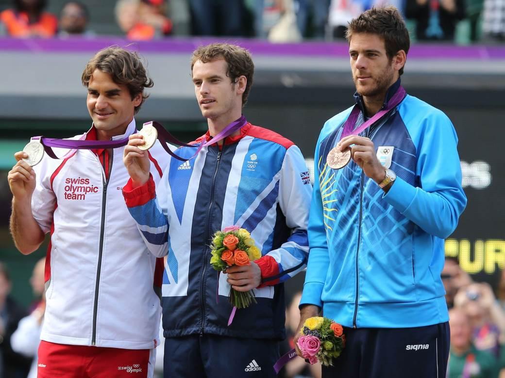Federer, Marej i Del Potro u Londonu