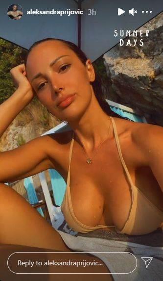 Aleksandra Prijović u bikiniju
