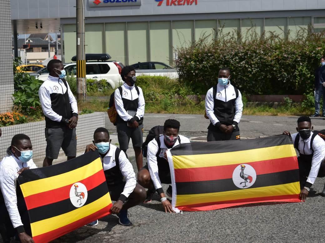 Uganda na Olimpijskim igrama