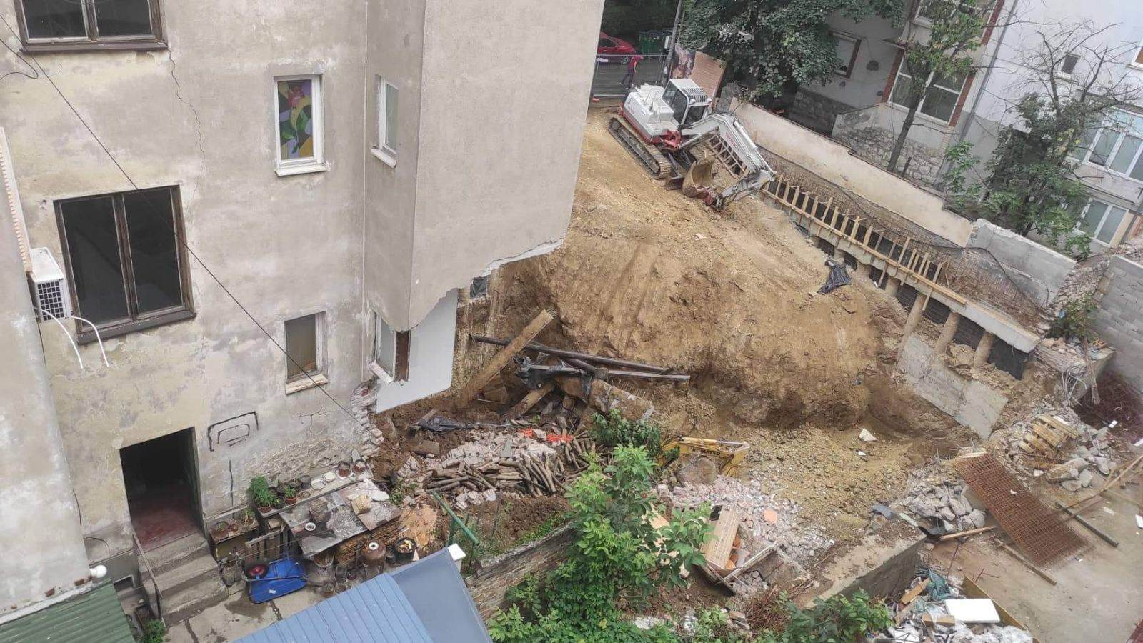 Vračar urušavanje zgrade