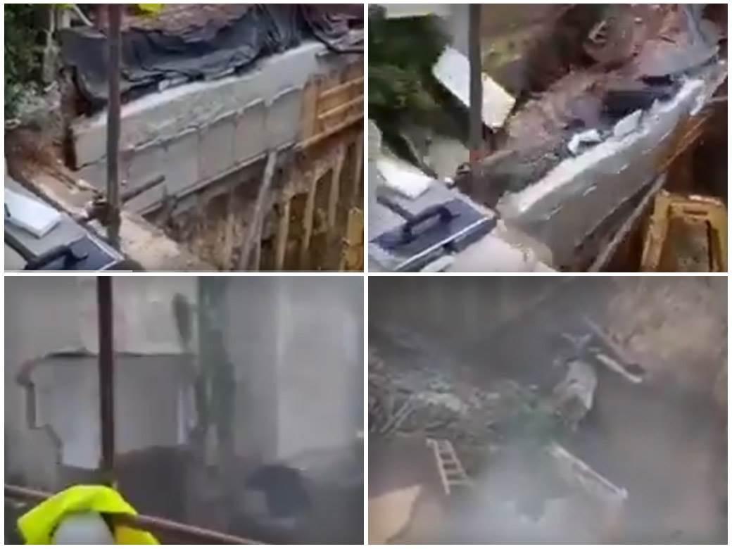 rušenje zgrade vračar
