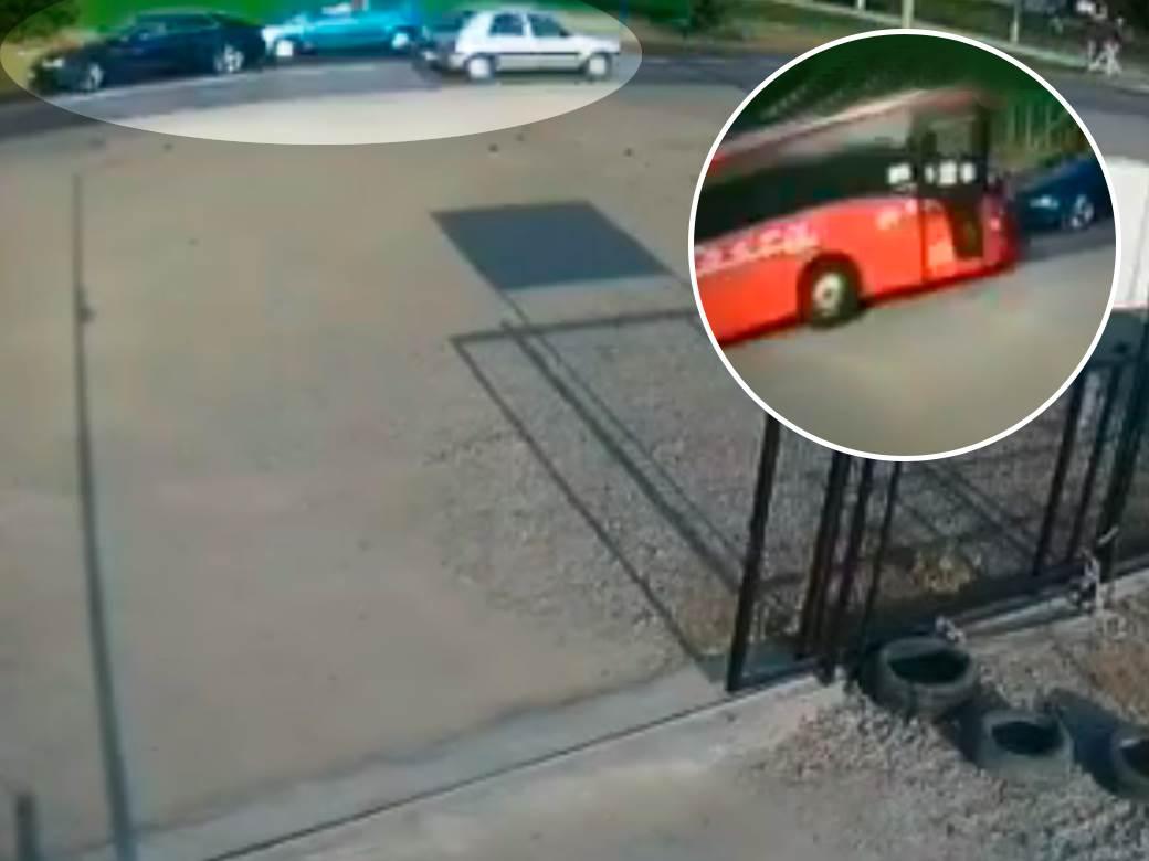 Sudar kola autobus