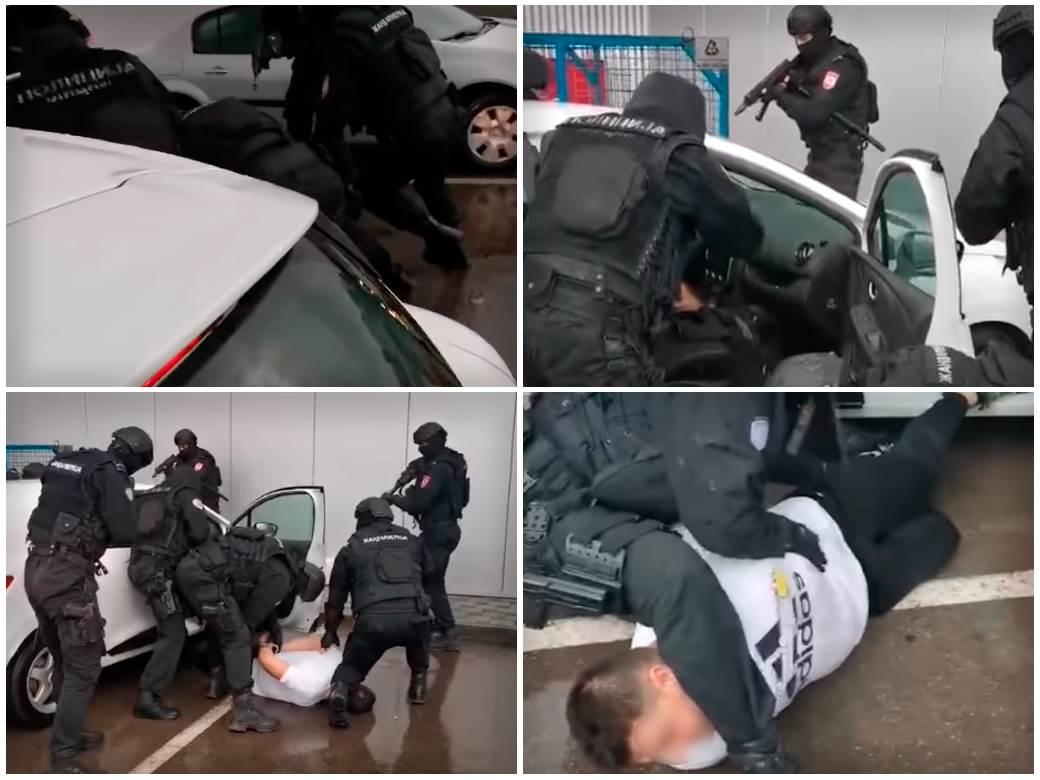 Hapšenje Miloša Božovića u Banjaluci