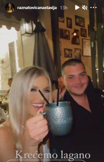 Viktor Živojinović i Sandra Miljaković