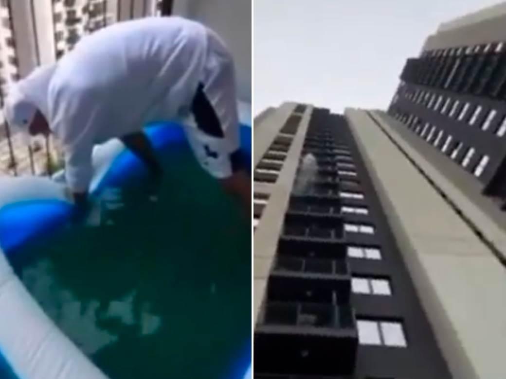 bazen, beograd na vodi