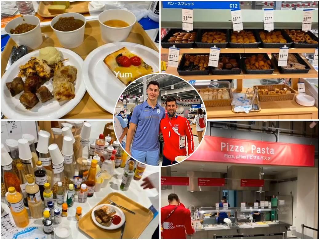 hrana na olimpijskim igrama