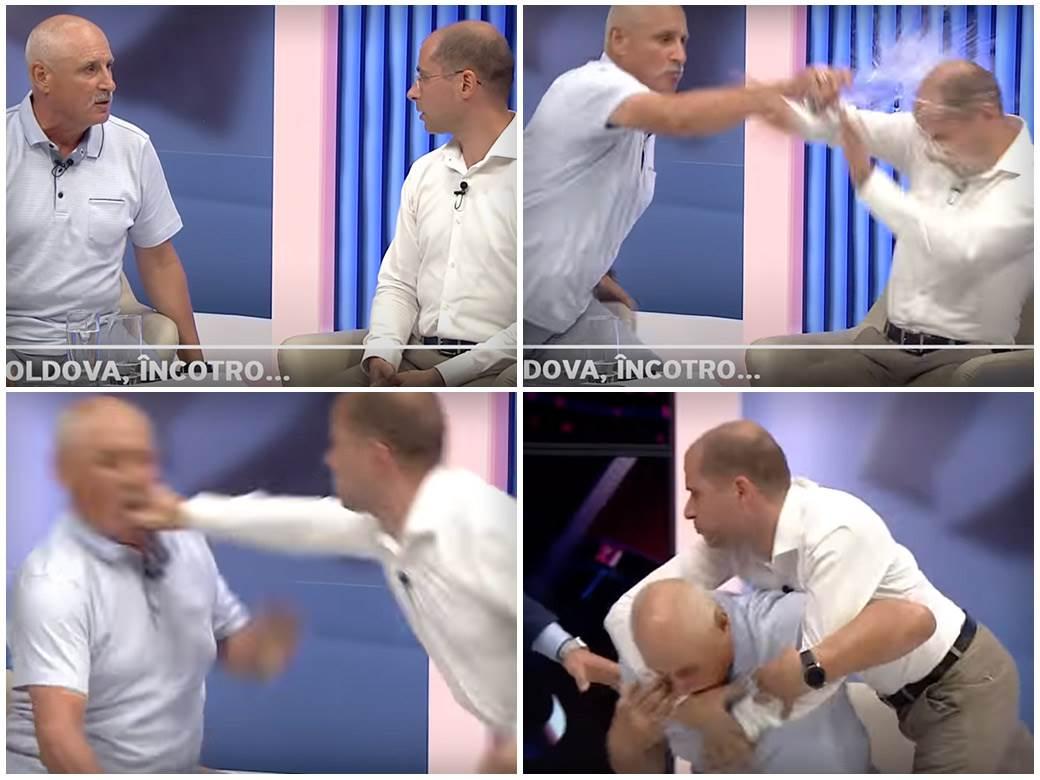 Tuča političara, Moldavija