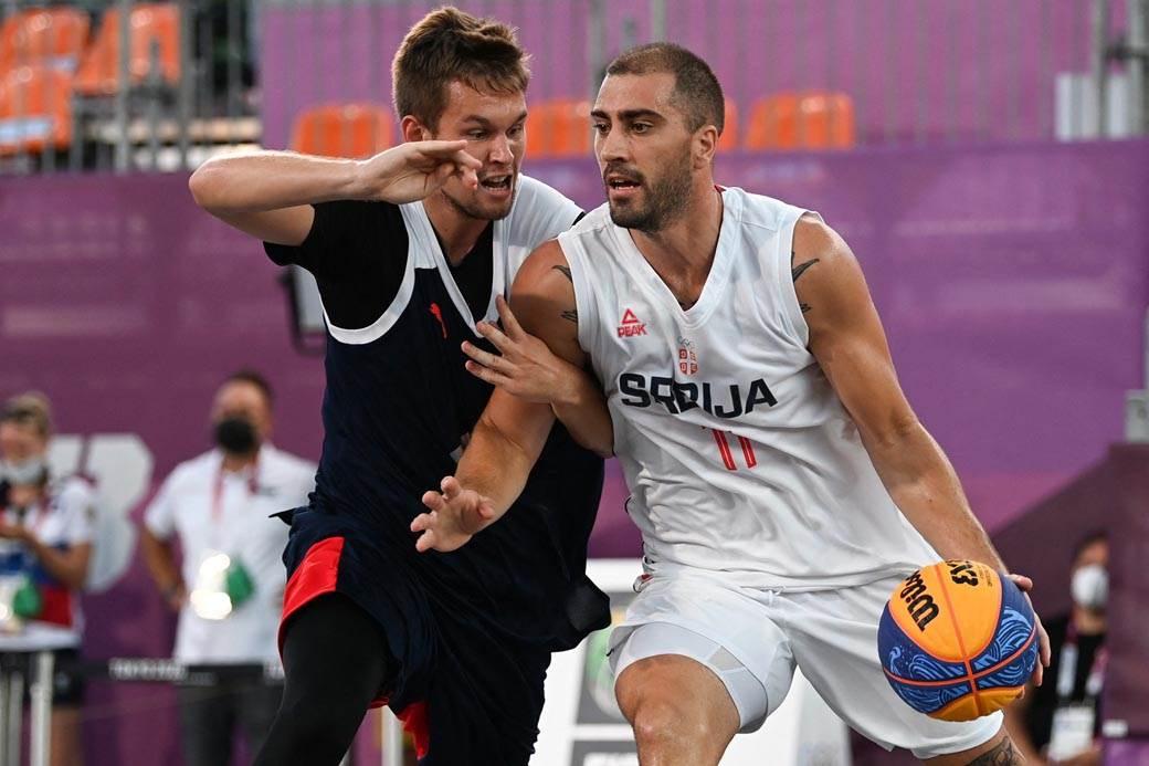 basket, srbija, rusija, 3x3, dušan bulut, tokyo 2020, OI