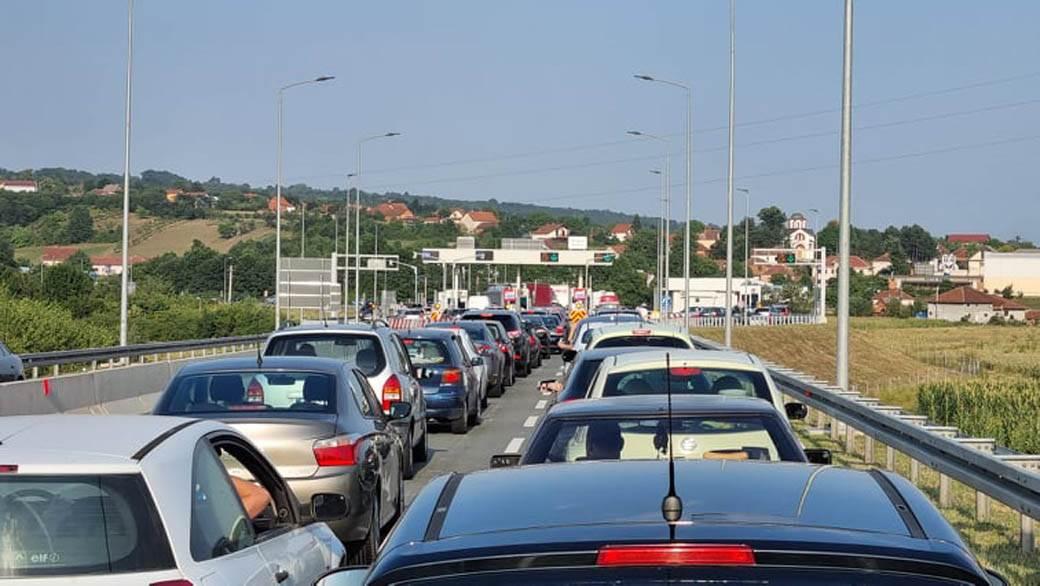 gužva autoput miloš veliki (2)