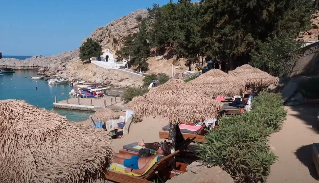 Plaža na Rodosu