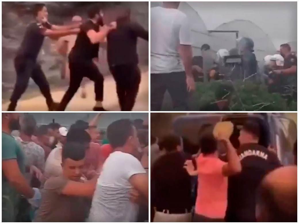 Turska policija haos