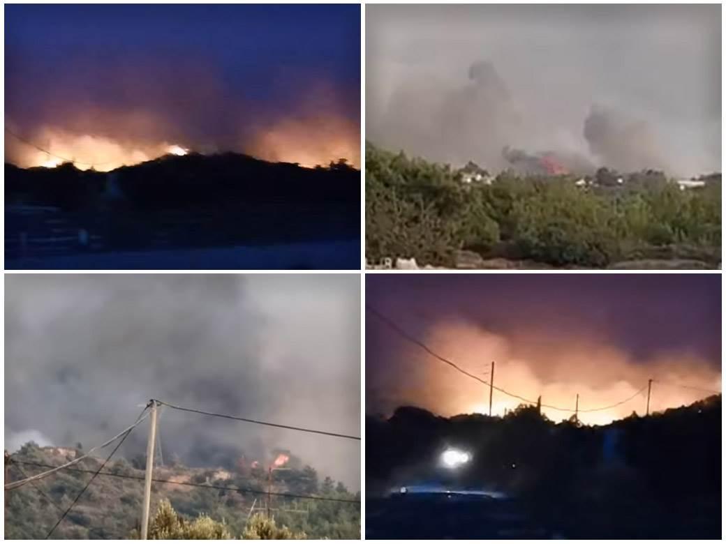 požar grčka rodos