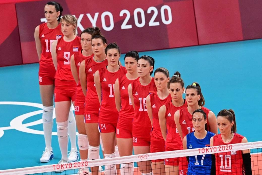 Srbija, Italija, Odbojka, Tokyo 2020