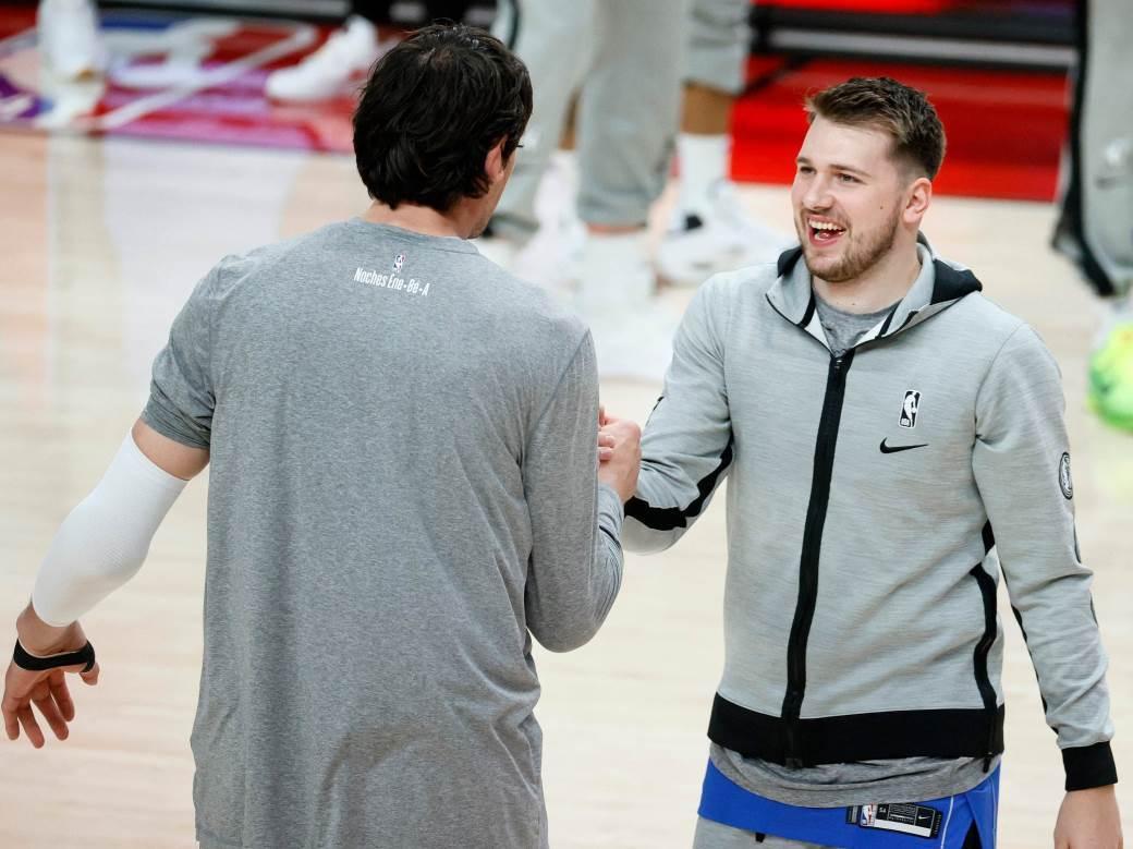 Boban Marjanović i Luka Dončić