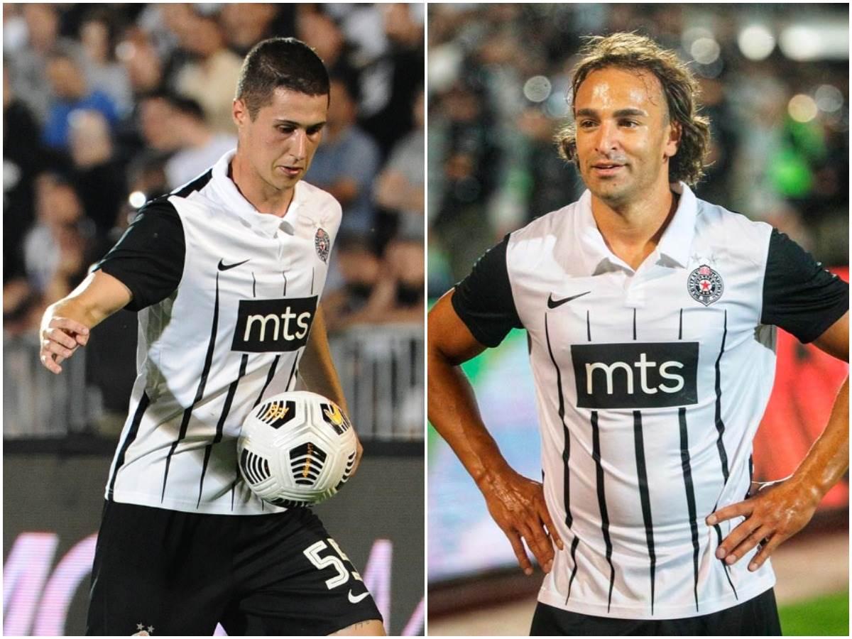 Danilo Pantić i Lazar Marković