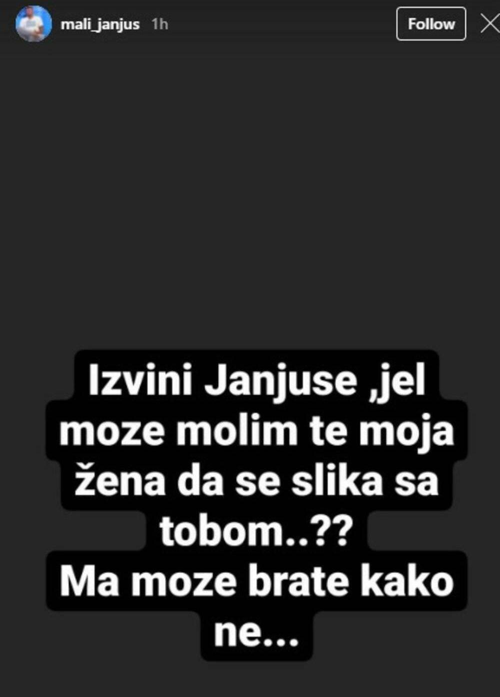 Janjuš ispričao šta mu se dogodilo