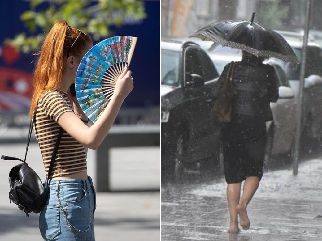 vrućina i kiša
