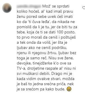 Muškaraca na instagramu komentarisao prosidbu