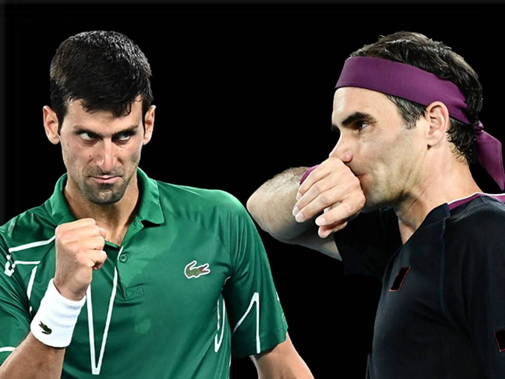 Federer i Đoković.