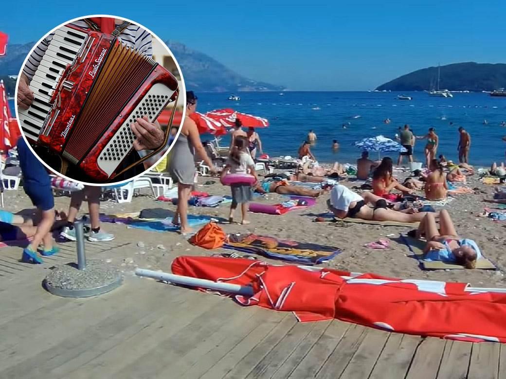 Plaža,-Harmonika