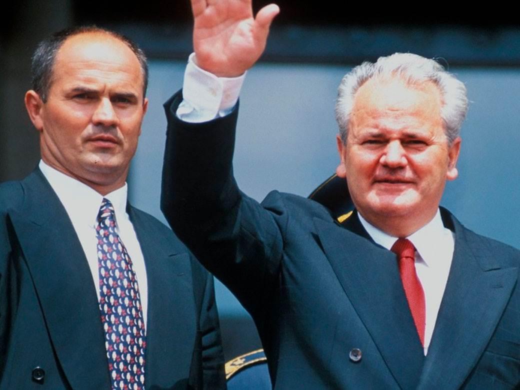 Senta Milenković Slobodan Milošević