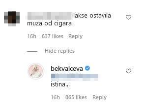 Nataša Bekvalac lakše ostavila muža nego cigare