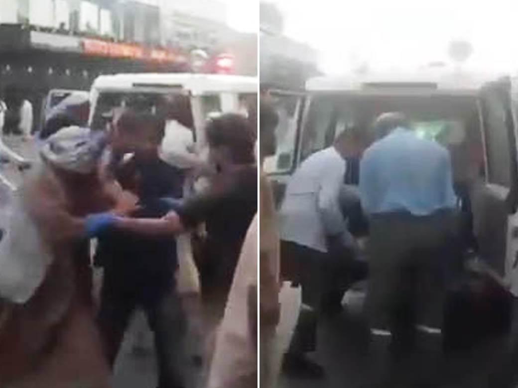 povredjeni eksplozija Kabul aerodrom