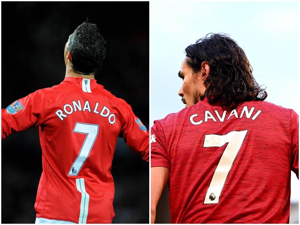 Kristijano Ronaldo i Edinson Kavani