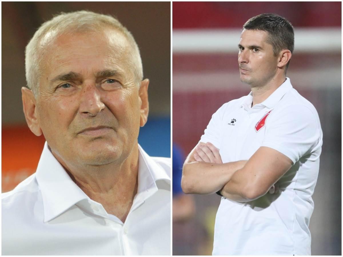 Milan Đuričić i Slavoljub Đorđević