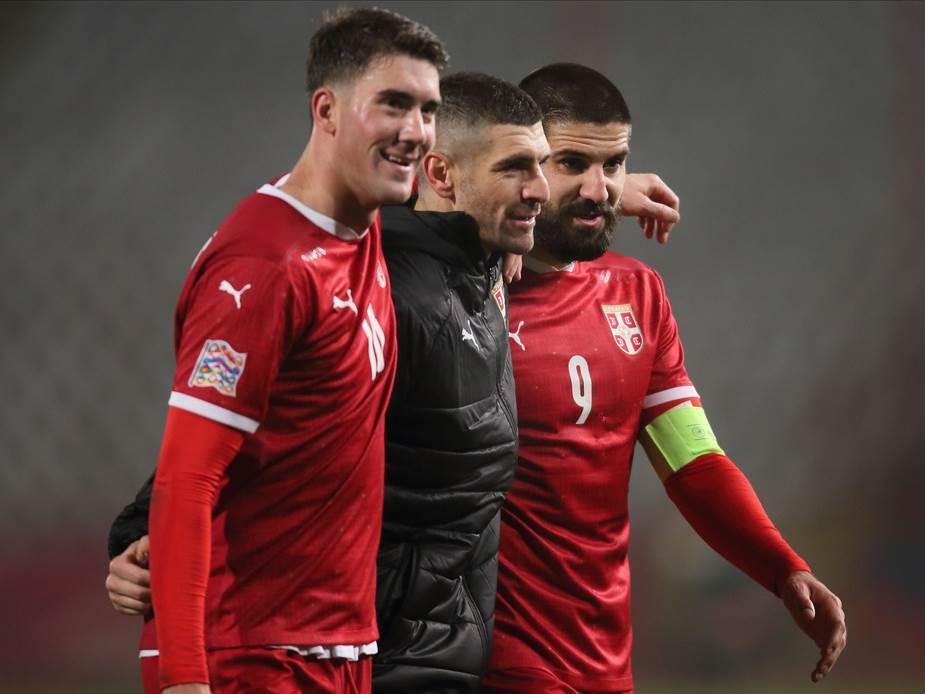 Dušan Vlahović, Stefan Mitrović i Aleksandar Mitrović