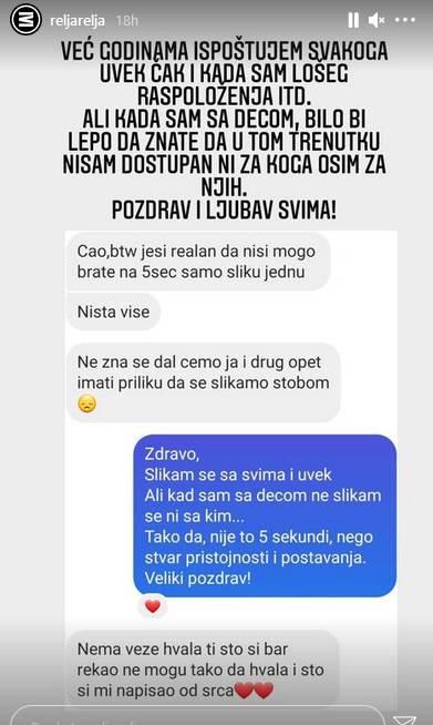 Relja Popović odbio da se slika sa fanovima